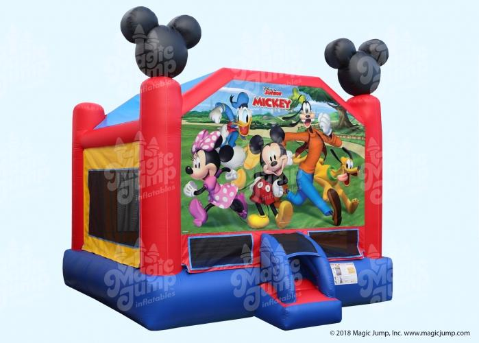 Mickey Bounce House - 15' x 15'