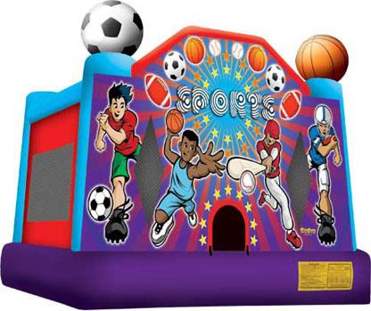 Sports Bounce House - 15' x 15'