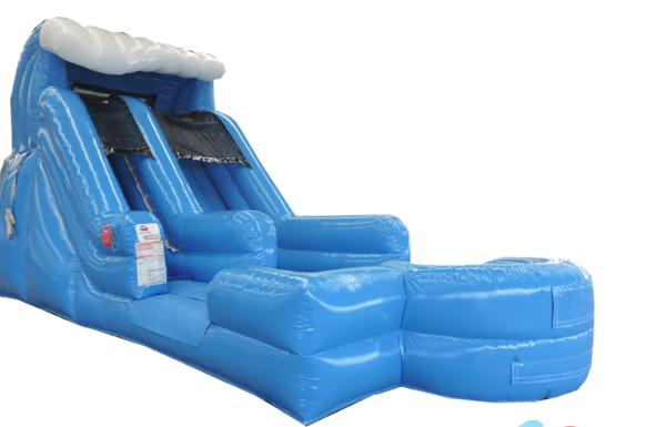 15' Surf's Up Slide - 25' x 15'