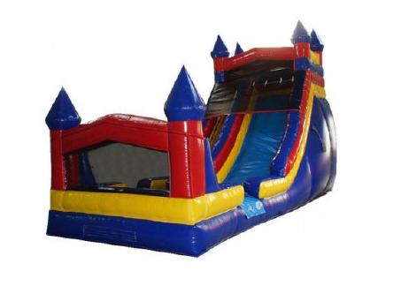 20ft Castle wet/dry Slide - 36' x 17'