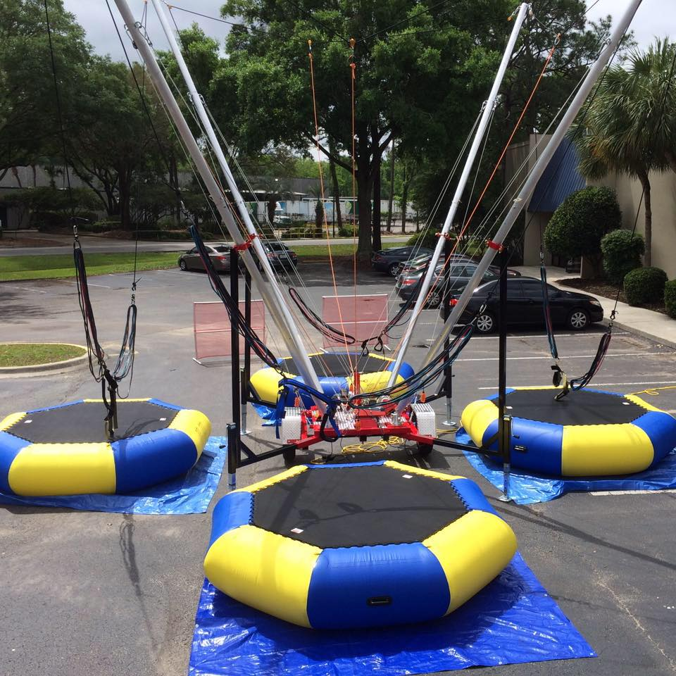 Atomic Bungee 2/3/4 stations available - space requirements vary