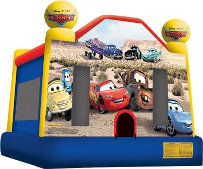 Cars Bounce House - 15' x 15'