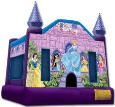 Disney Princess Bounce House - 15' x 15'