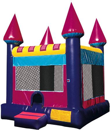 Girl Castle Bounce House - 15' x 15'