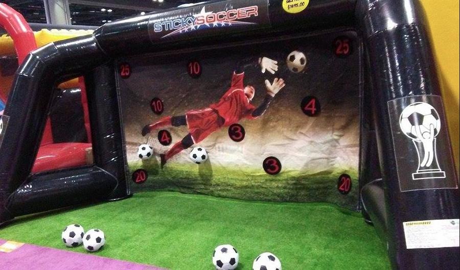 Velcro Soccer Kick