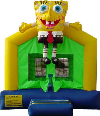 SpongeBob Bounce House - 15' x 15'