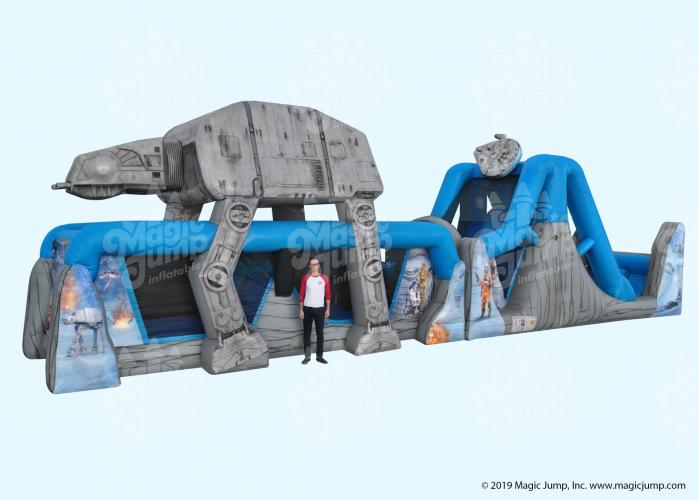 StarWars Obstacle Course - 70' x 15'